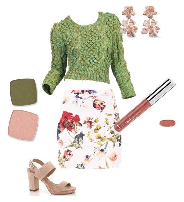 """Flatter Me Floral"" by sydney-parr on Polyvore featuring beauty, Lady Godiva, Oscar de la Renta, floral, professionalmakeup, enduringlipcolor and limelightbyalcone"
