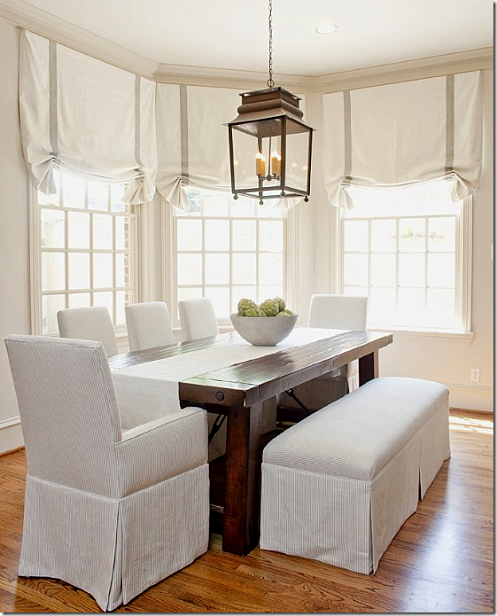 Choosing A Hanging Lantern Pendant For The Kitchen Driven By Decor Bright Dining Rooms Dining Room Design Slip Covered Dining Chairs