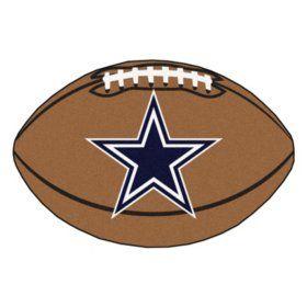 Buy Nfl Dallas Cowboys Football Mat Nfl Gear At