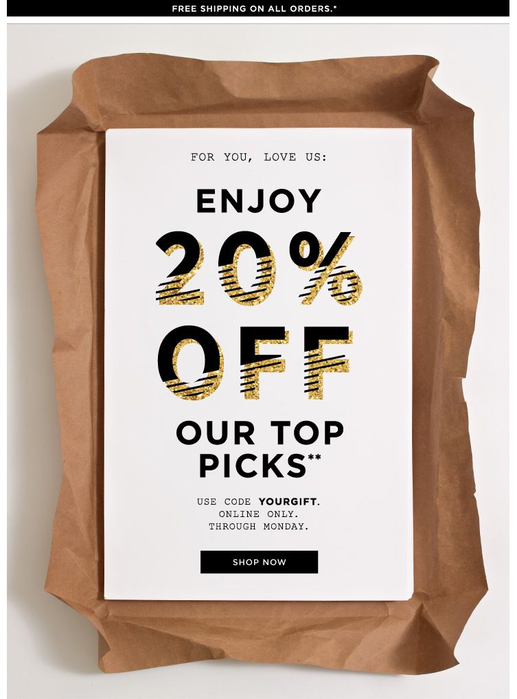 Simple to execute - Jcrew email Marketing Design Inspiration - sample email marketing