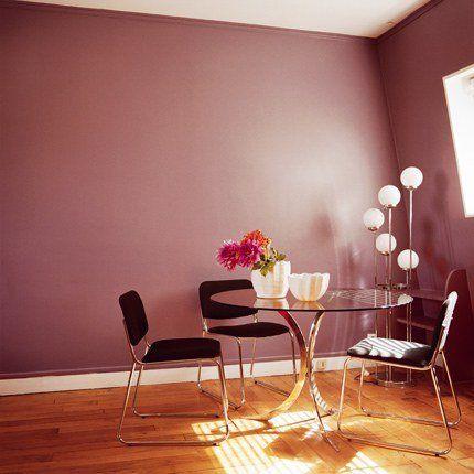 Une salle à manger violette très 60\u0027s beaut Pinterest Decoration
