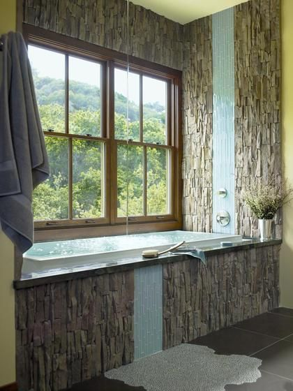 Eldorado Stone Style Estate Rooms Bathroom Tiles House