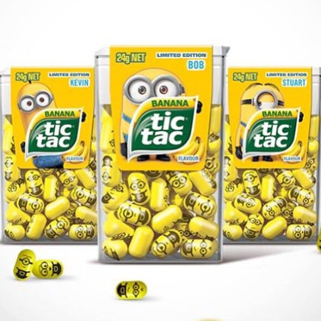 minion tic tacs i need these just to say i some