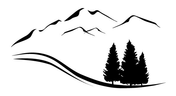 mountain bike jump image silloete png - Google Search