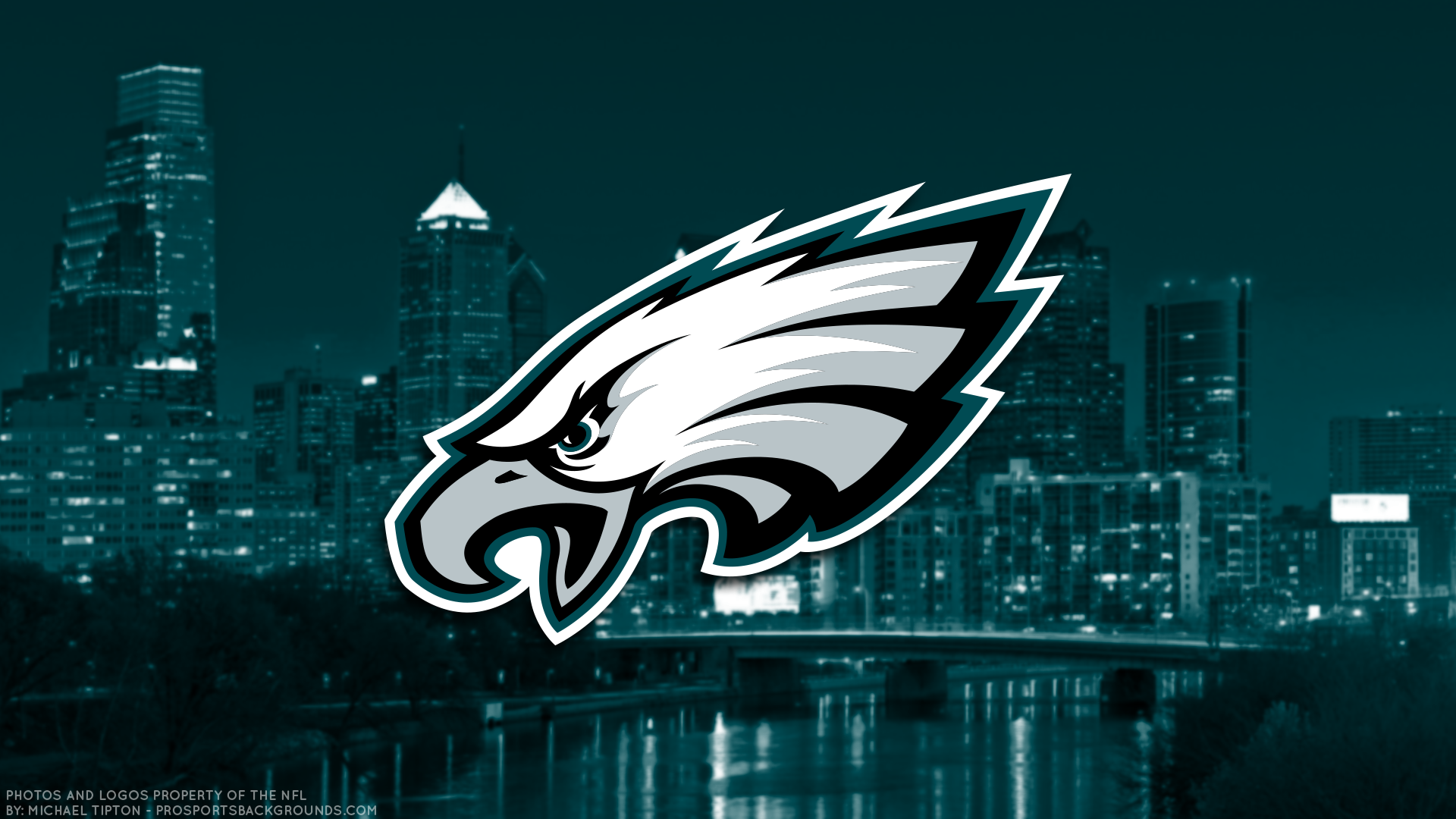 eagles logo city backdrop philadelphia eagles 2017