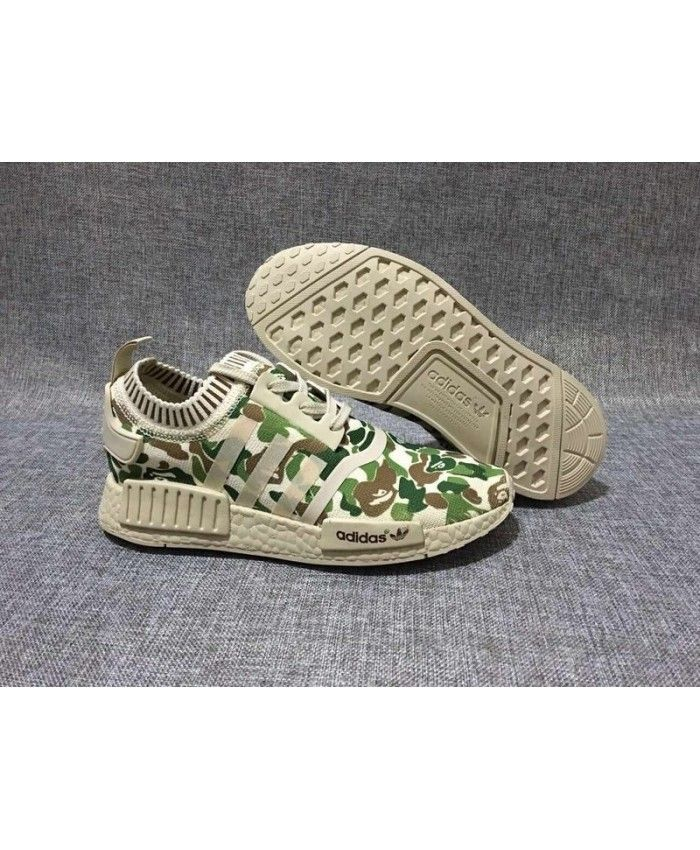 sale retailer 879b0 b5b9e Adidas NMD Runner Primeknit Camo Army Green Light Bone Brown Very color, it  seems very want to buy a pair.
