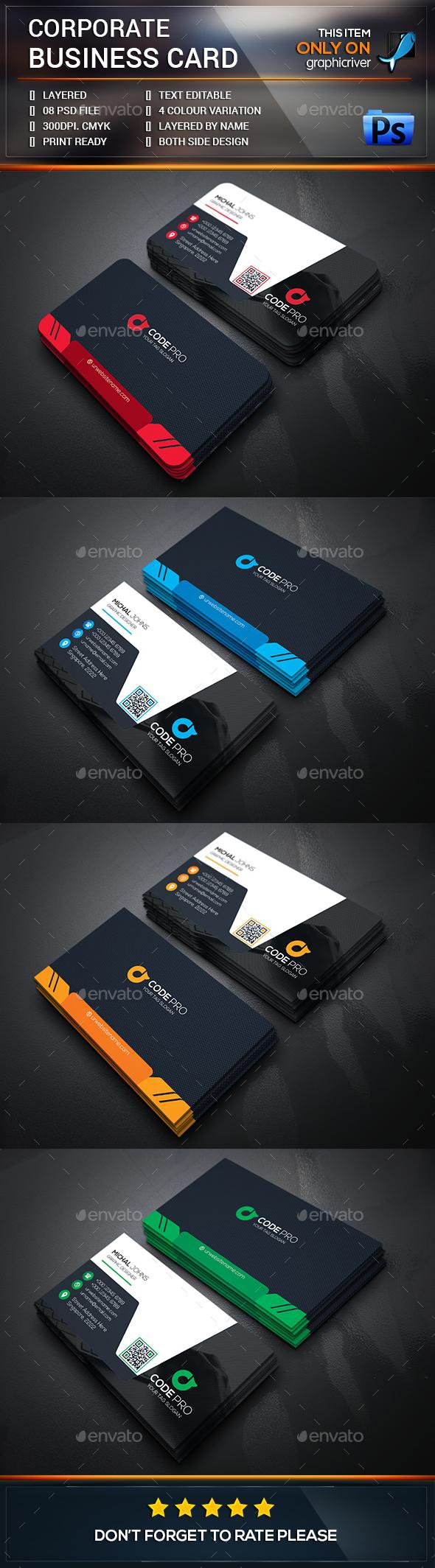 Smart corporate business card template psd design download http smart corporate business card template psd design download http graphicriver reheart Gallery