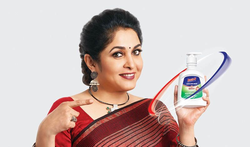 "CavinKare's Bacto-V Enters Hand Hygiene Category; Actor Ramya Krishnan to ""Keep in Touch"" with the brand"