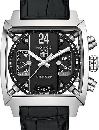 Tag Heuer Monaco 24 Calibre 36 Automatic Chronograph 40.5 mm CAL5113.FC6329