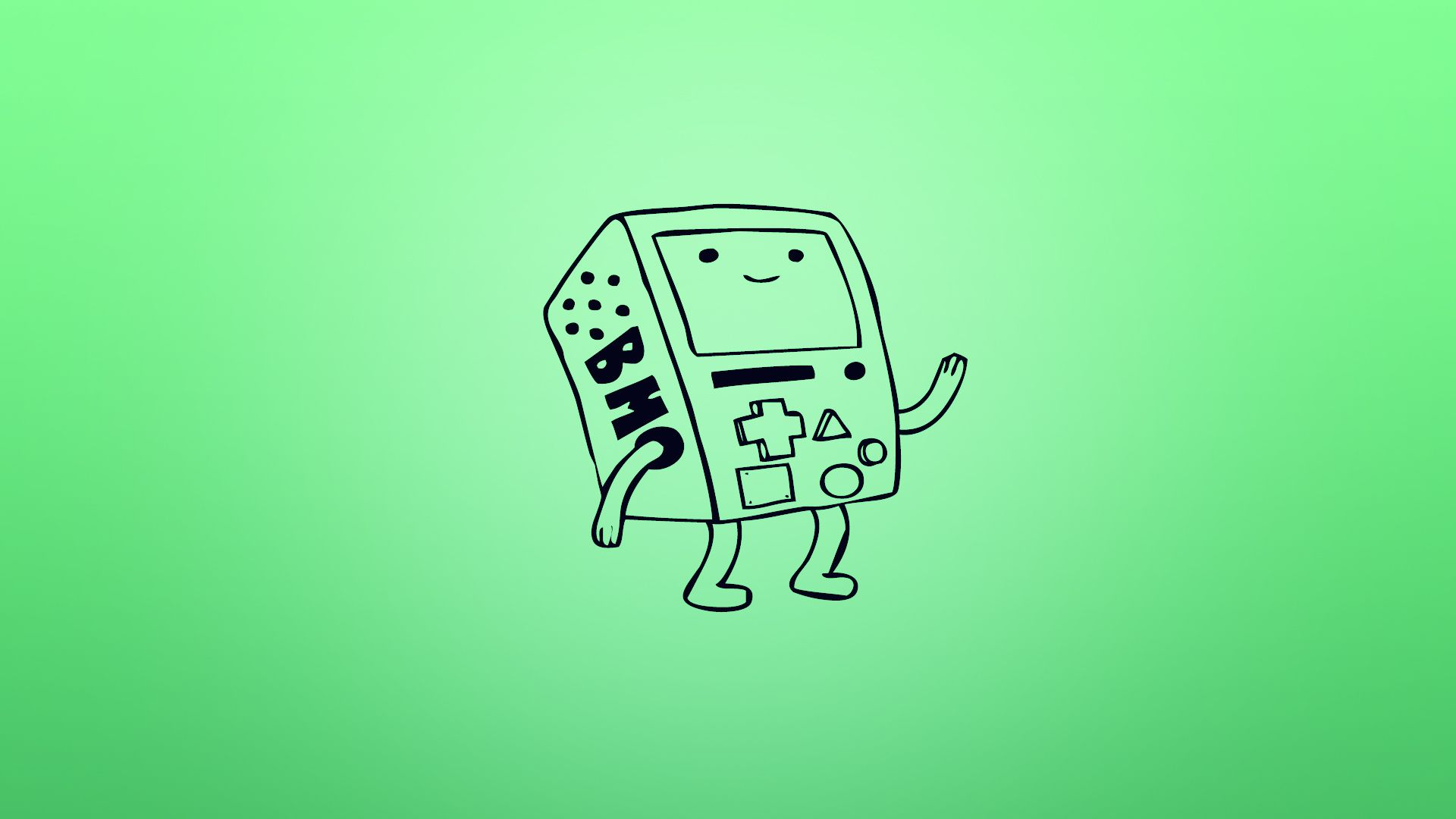 Im Working On A Bmo Wallpaper Here Is A Adventuretime Adventure
