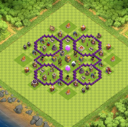 Town Hall 7 Farming Base Clash Of Clans Update 2017