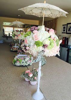 Superb Girl Baby Shower Unique Flower Arrangements