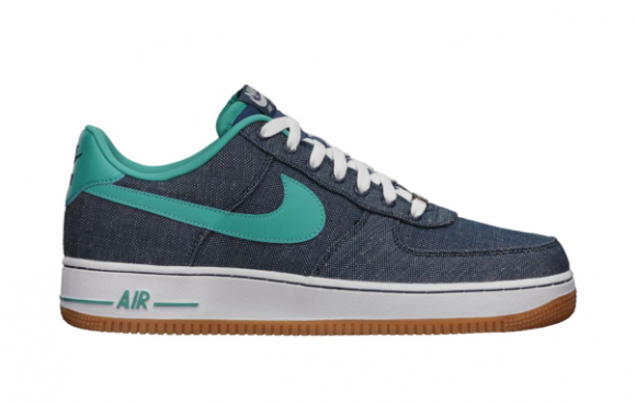 online store 75e7a 5ce15 Nike Air Force 1 Low Canvas Squadron Blue Sport Turquoise Gum ...