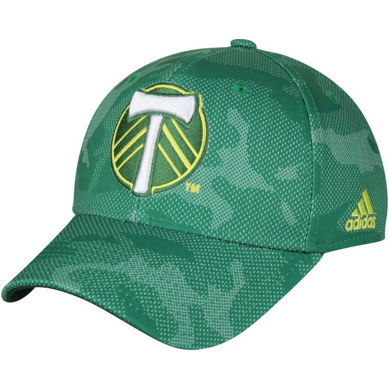 55c506429af Portland Timbers adidas Structured Snapback Adjustable Hat - Green Portland  Timbers