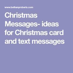 Christmas gift card message ideas