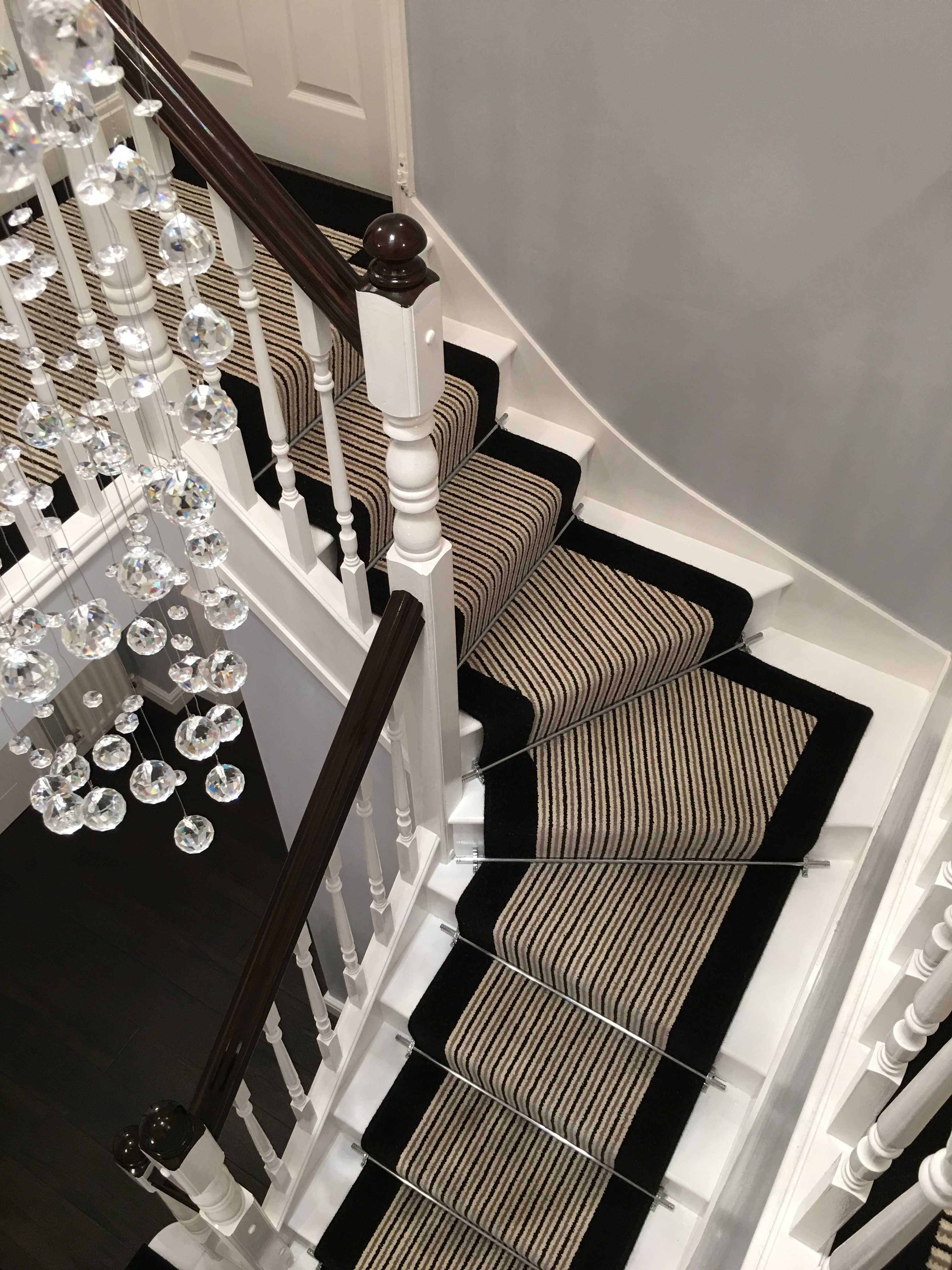 Best Brintons Carpets Stripes Collection Humbug True Velvet 400 x 300