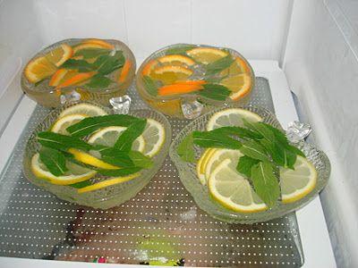 Jarrah Jungle: Orange Lemon and Mint Ice Bowls