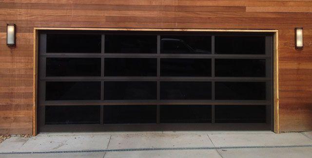 Another Sleek Modern Garage Door By A And J Garage Doors Modern