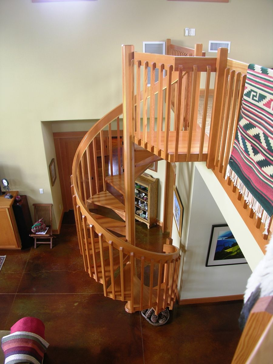 Best Craftsman Style Spiral Stair Spiral Staircase Kits 400 x 300