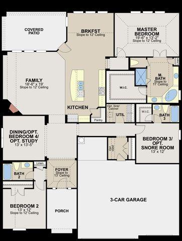 124 Rancho Trail, Georgetown, TX 78628 Floor Plans Pinterest