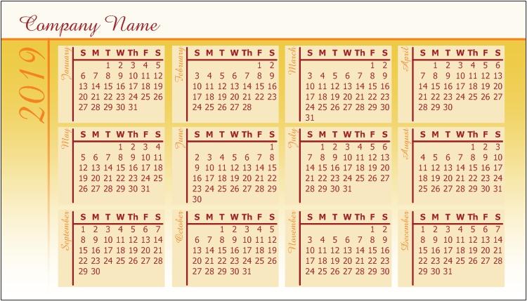 Pocket Calendars Personalised Photo Calendar Pocket Calendar