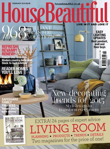 House Beautiful Uk February 2015 Design Interiors