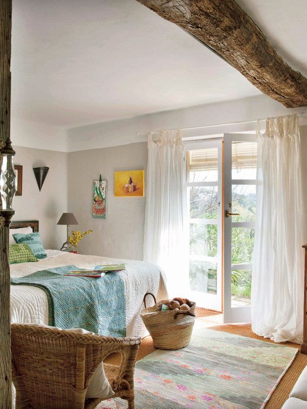 Casas de campo estilo espa ol casas de campo casas y - Como decorar una casa rural ...