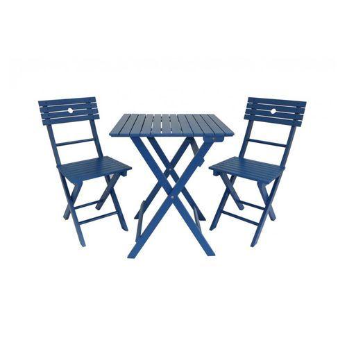 romantique salon de jardin tennis 2 chaises blanc ou bleu d co maisons hotels restaurants. Black Bedroom Furniture Sets. Home Design Ideas