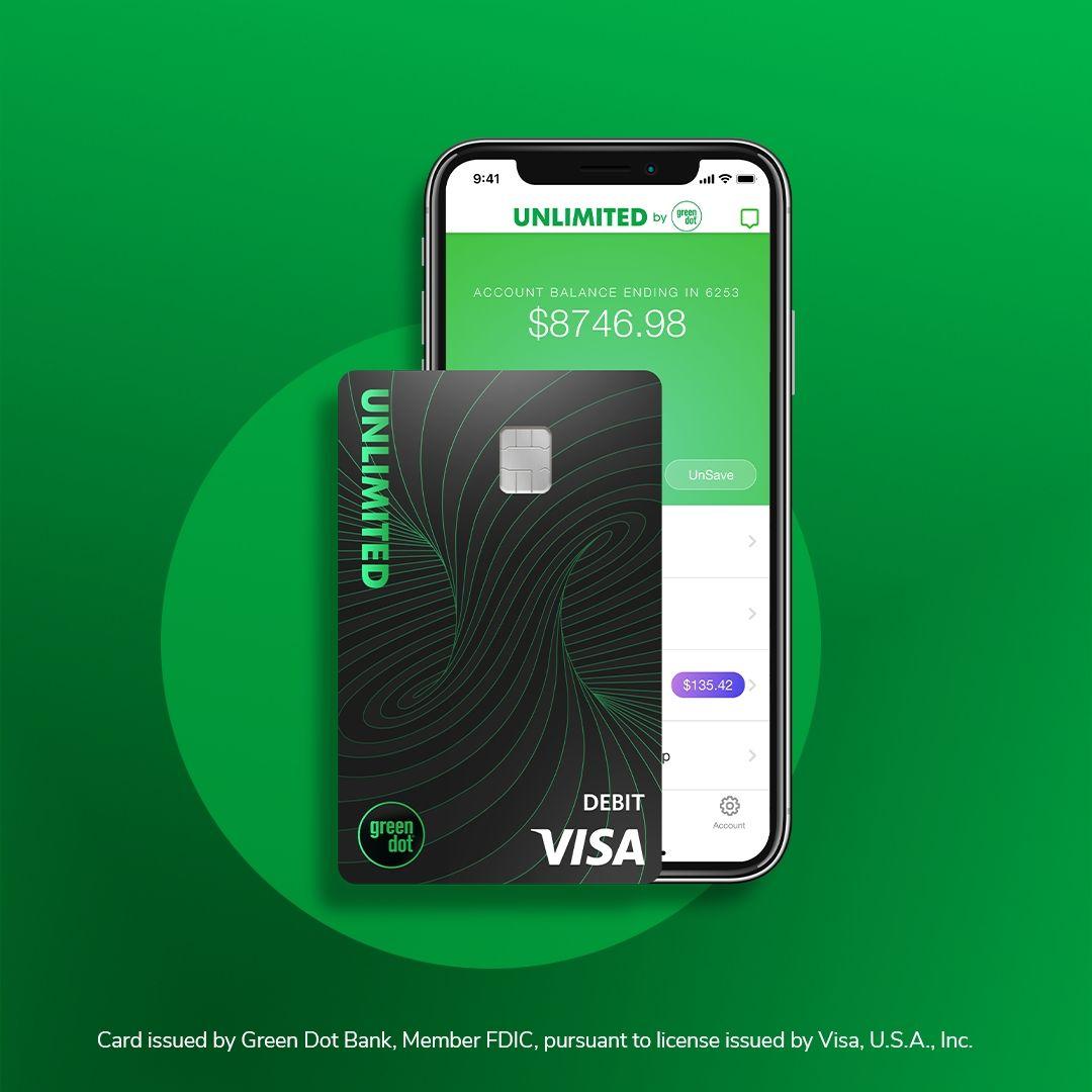 Green dot savings card prepaid credit card prepaid