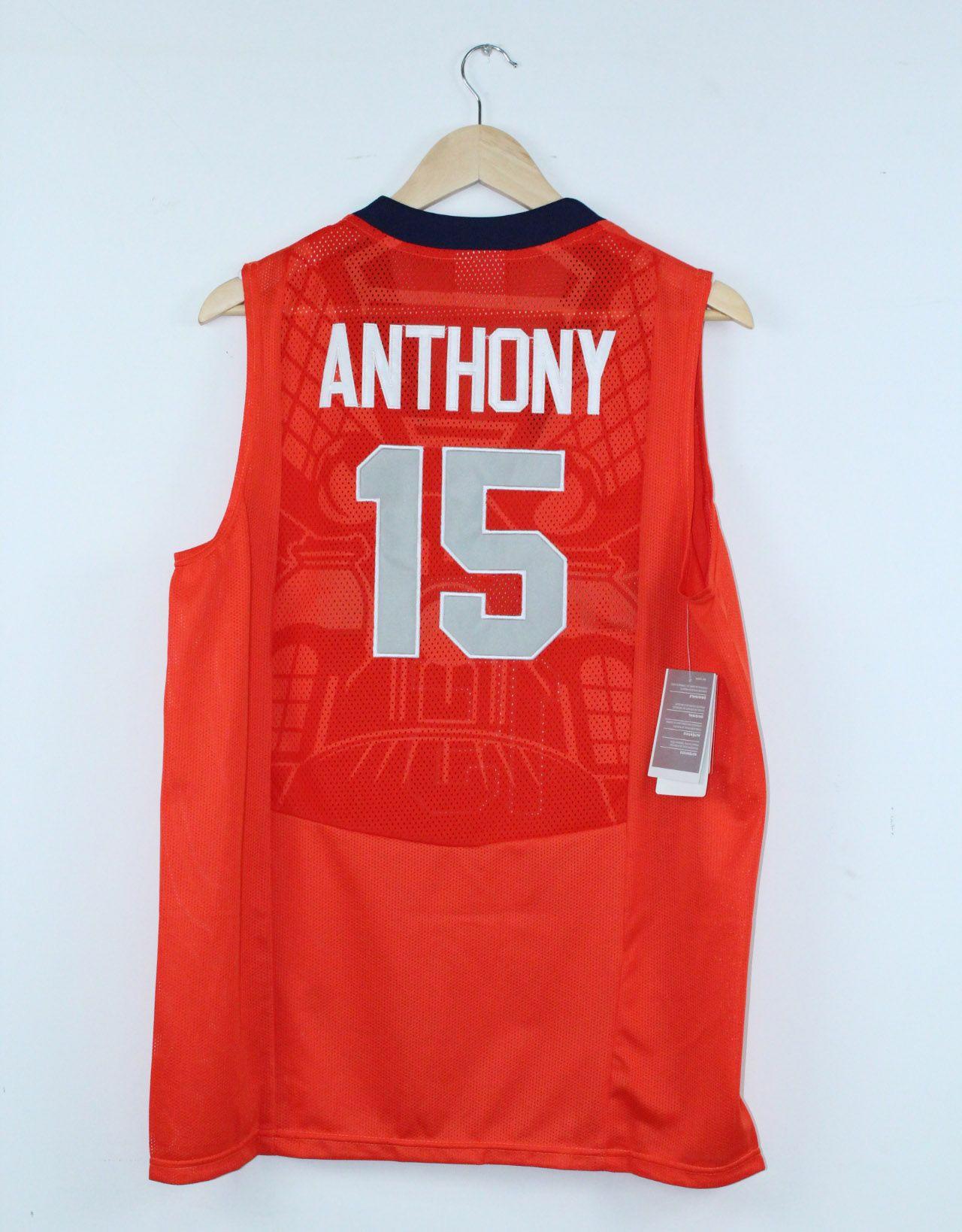 19 Carmelo Anthony Syracuse University 15 Basketball