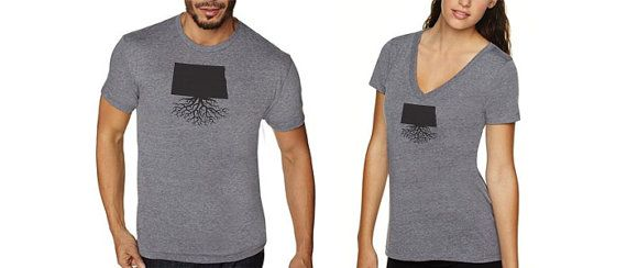 The North Dakota ultra comfy tees offer a great way by WYRclothing, $22.00