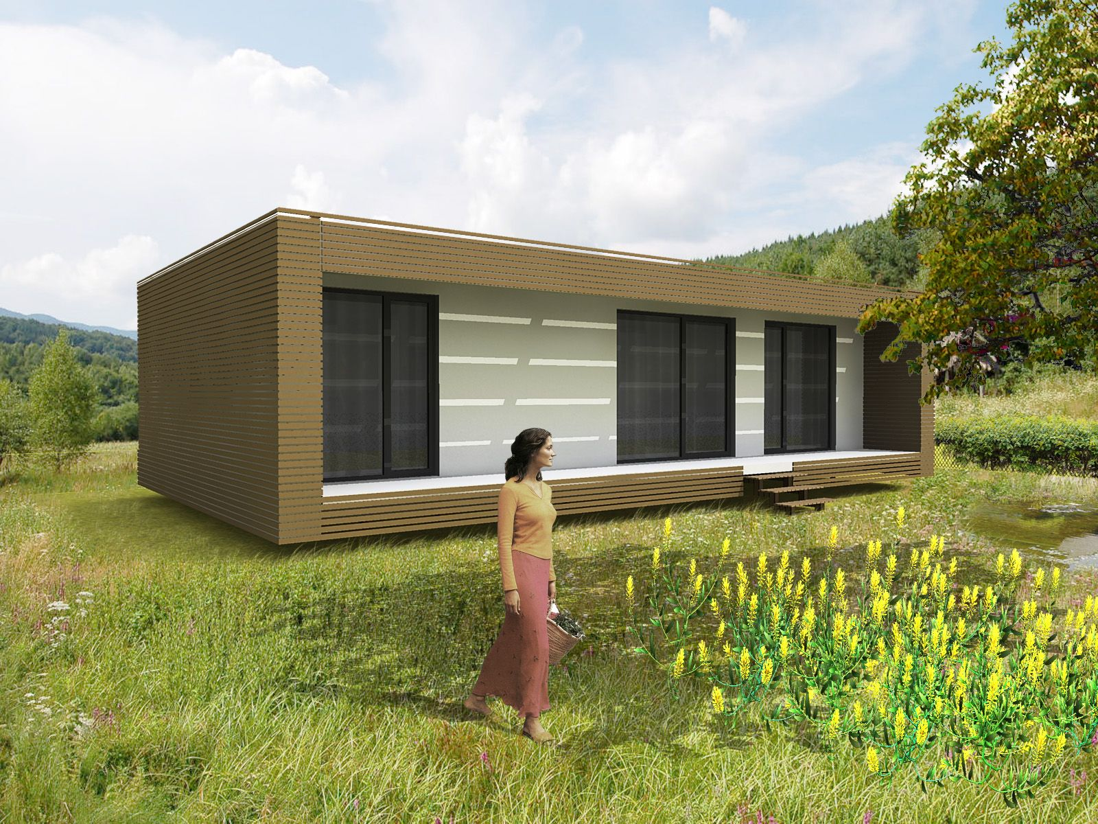Nest Box Combines Passivhaus And Prefab For Low Cost Green Housing House Designs Exterior Modern Prefab Homes Modular Home Floor Plans