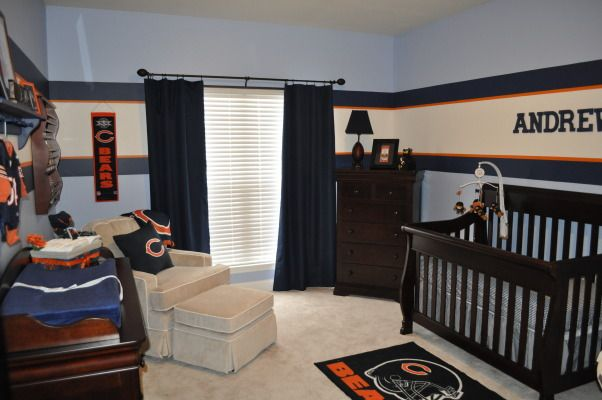 Denver Broncos Bedroom Decor Bears Nursery Perfect