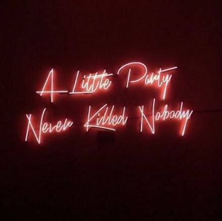 Let S Party Neon Sign Neon Signs Pink Neon Lights Neon Light Signs