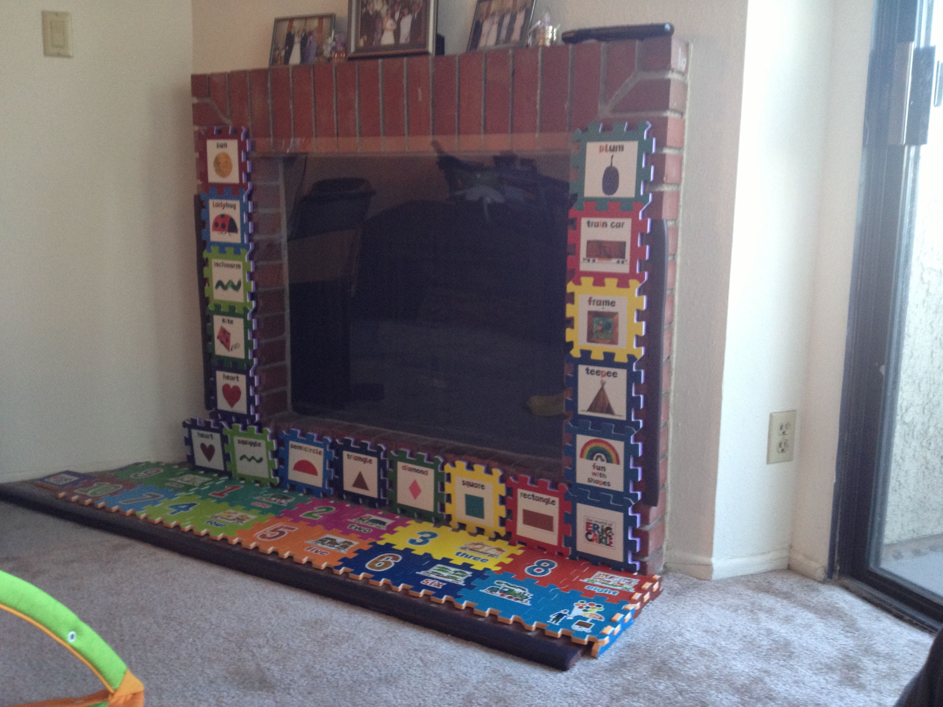 baby proof fireplace under 100 diy pinterest