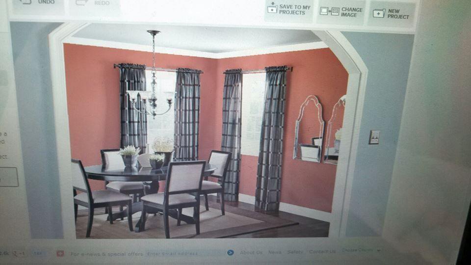 valspar s hacienda tile in the dining room and valspar s on valspar virtual paint a room id=16426