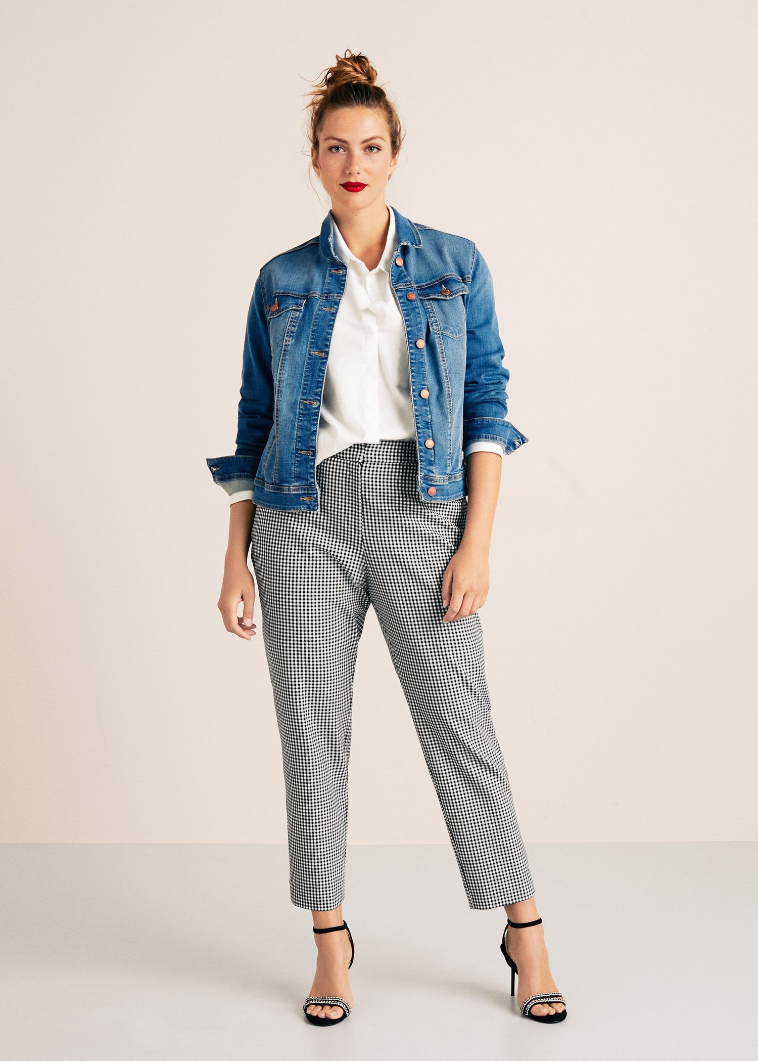 5b4ec872934 Pantalón cuadro vichy - Tallas grandes en 2019 | •Outfit ...