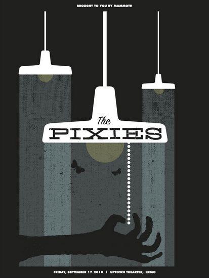 The Pixies Concert Poster   Vahalla Studios