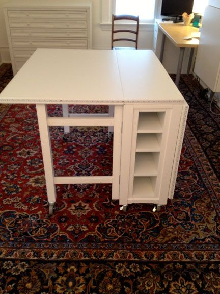 Christine Mauersberger: Studio Space Work Table Arrived ...