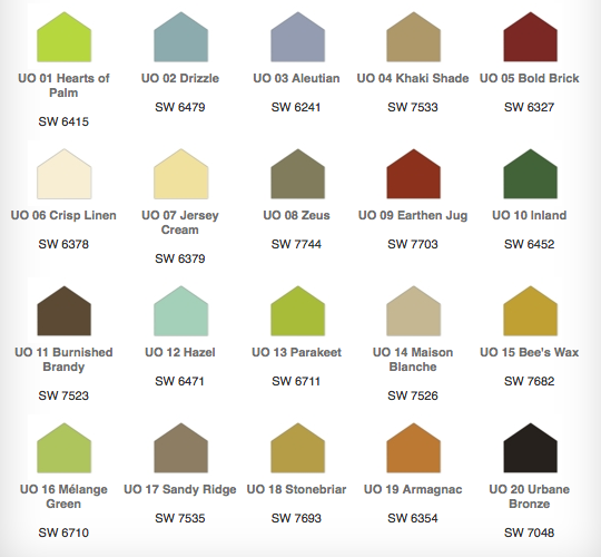 Urban Organic Collection Hgtv Home By Sherwin Williams Everything Old Is New Again