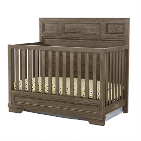Westwood Design Foundry Convertible Crib In Brushed Pewter Shop Nursery Furniture That Grows With Your Child Baby Furniture Stores Cribs Nursery Furniture