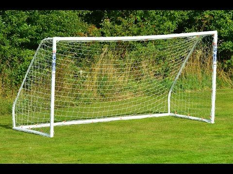 Best Soccer Goal Plan 12 X 6 Pvc X2f How To Build A Pvc Soccer Goal Youtube Portable Soccer Goals Soccer Goal Post Soccer Goal
