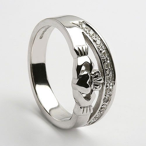 Claddagh Diamond Half Trim