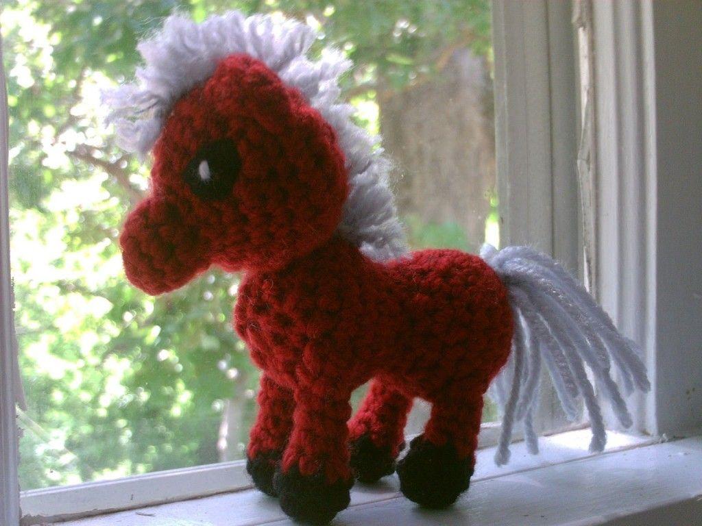 Year of the Horse: 29 Free Crochet & Knitting Patterns   Pinterest ...