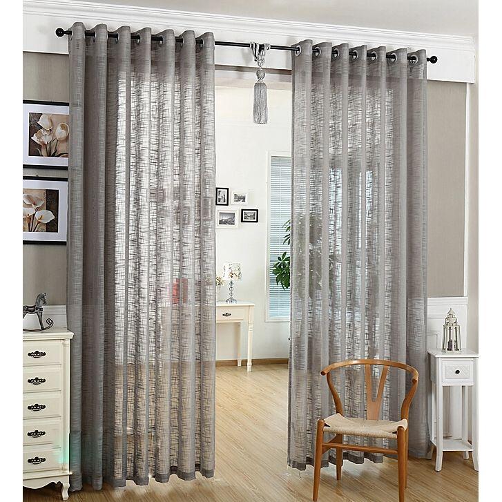 modern linen and cotton bedroom short sheer curtains living room rh pinterest com