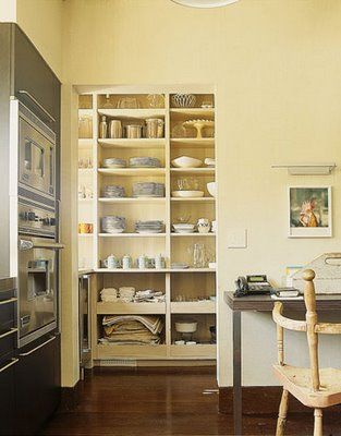 Walk in pantry no door Kitchen Ideas Pinterest