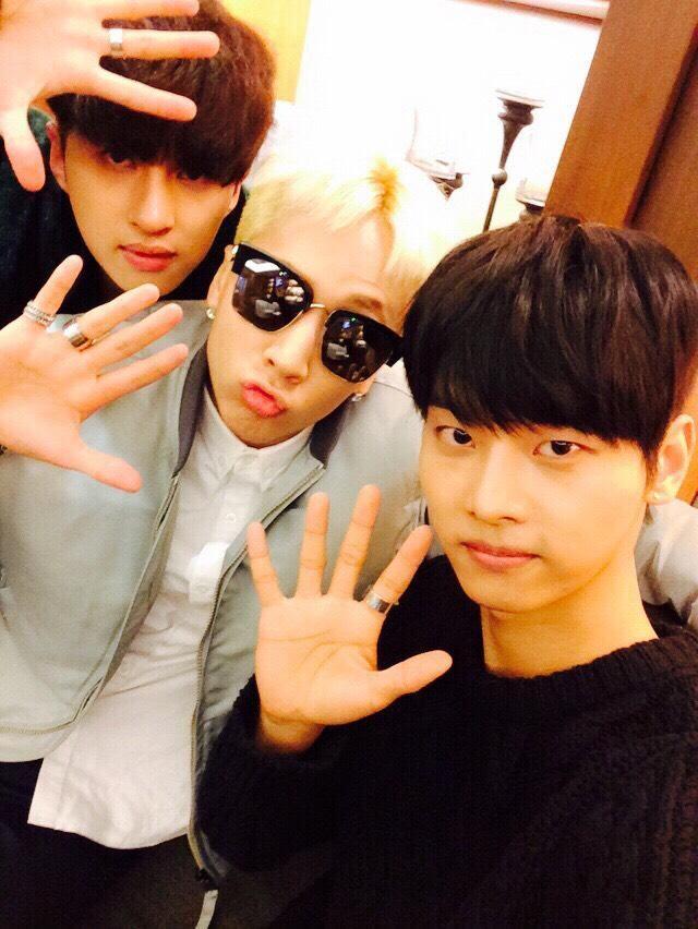 춥다~ 감기조심해! ----------  VIXX_N TWITTER UPDATE 7/2/2015 ♥ N, KEN AND RAVI ♥