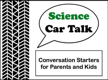 Science Car Talk Conversation Starters for Parents and