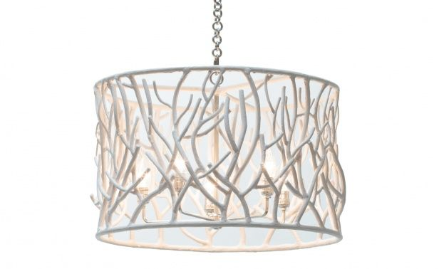 Cast resin sylvan chandelier by oly san francisco at coco republic cocorepublic lighting
