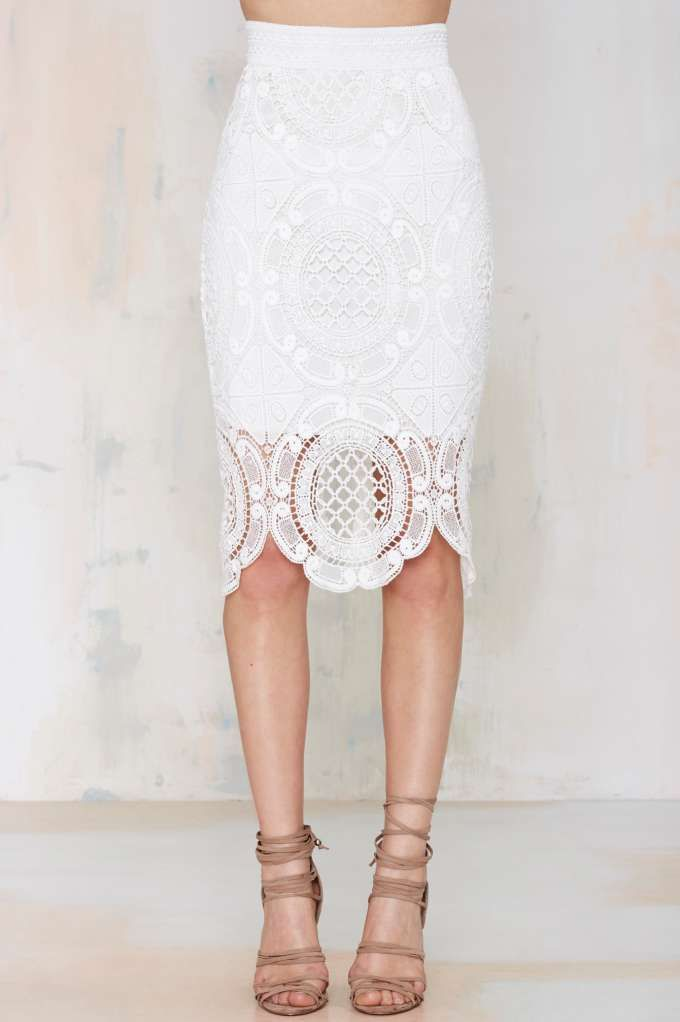 Oh hi Lioness Gemini Lace Skirt I'll be wearing all summer lon.